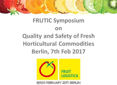 Logo FRUTIC Symposium im Rahmen der Fruit Logistica 2017