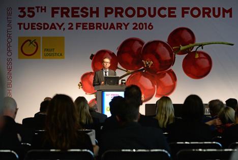 Fruit Logistica 2016 - Frische Forum Obst und Gemüse . Foto Messe Berlin