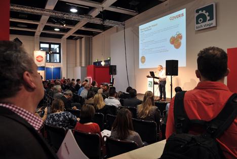 "Fruit Logistica 2016 - Tech Stage - ""Enhancing Freshness & Reducing Waste through Packaging Intervention"". Quellen: ""obs/Messe Berlin GmbH"""