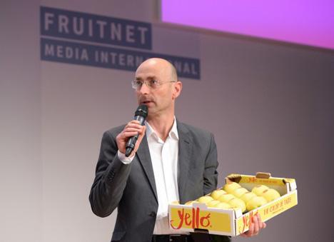 Michael Grasser vom Verband der Vinschgauer Produzenten für Obst und Gemüse (VI.P). Foto Messe Berlin