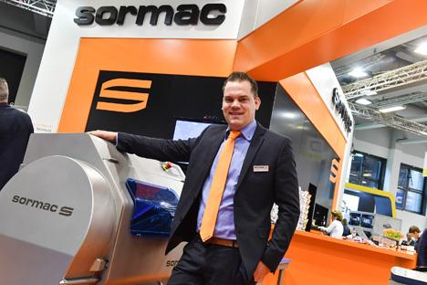 Sormac stellt Weltpremiere Veggie Line vor