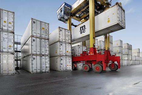 Hafen von Antwerpen erster Anlaufhafen für brasilianische Früchte MSC Reefer.  Foto © Port of Antwerp