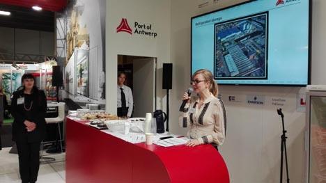 Maartje Driessens, Leiter Geschäftsentwicklung bei dem Hafen von Antwerpen. Foto © Port of Antwerp