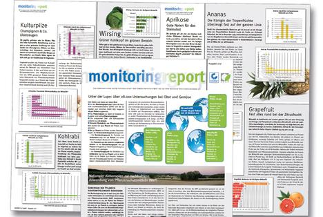 Bild Monitoringreport 2017. Quelle: QS Qualität und Sicherheit GmbH / www.q-s.de