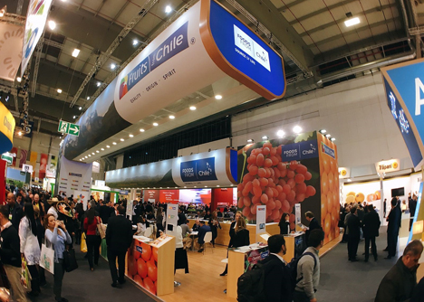 Asoex Prochile Fruit Logistica 2017