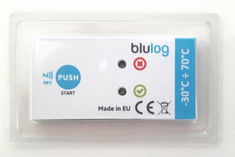 Bild: NFC-Datenlogger. Blulog Sp.z.o.o.