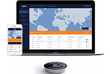 Überwachung in Echtzeit mit MOST. Foto Mobile Sensory Technologies AB