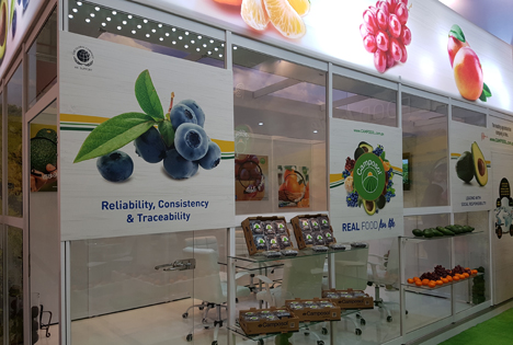 Camposol booth Fruit Logistica