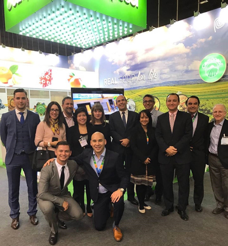 Camposol team Fruit Logistica