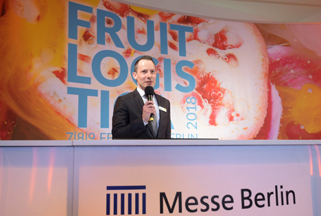 Fruit Logistica 2018 Media Preview - Wilfried Wollbold Global Brand Manager Fruit Logistica