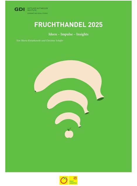 """Bild Trendreports """"Fruchthandel 2025"""" der Fruit Logistica"""
