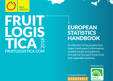 Cover Fruit Logistica European Statistics Handbook - Bild Messe Berlin