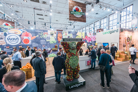 Landgard, Fruit Logistica, Kolumbien