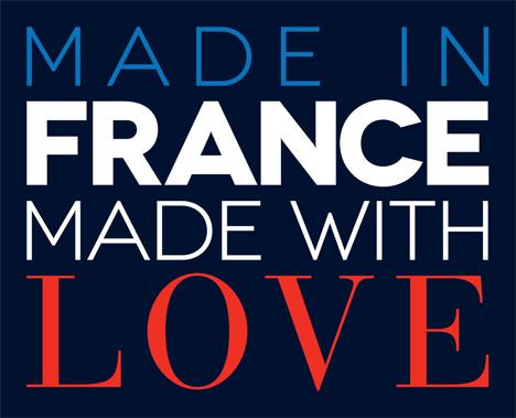 """""""Made in France – Made with Love"""" ist der gemeinsame Slogan des Frankreich-Pavillons"""