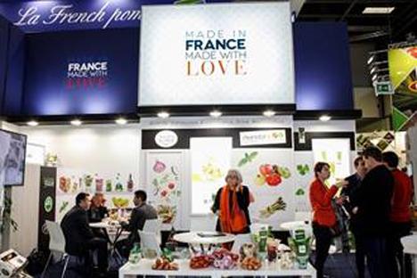 Ess-thetik pur: das französische Angebot auf der Fruit Logistica 2018 (Bildrechte: © Messe Berlin)