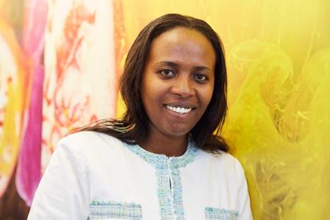 Sandrine Urujeni, Deputy CEO, National Agricultural Export Development Board (NAEB) Ruanda(Foto Messe Berlin)