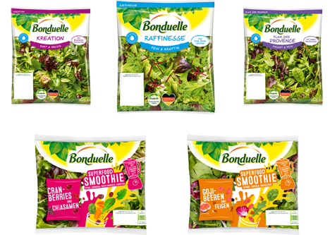 Bonduelle Fresh-Cut Relaunch Premium Range. Foto © Bonduelle