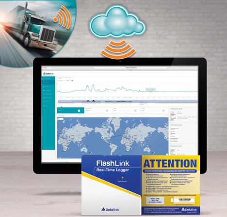 """Spotlight"" Europapremiere: FlashLink Real-Time In-Transit Logger - DeltaTrak Inc."