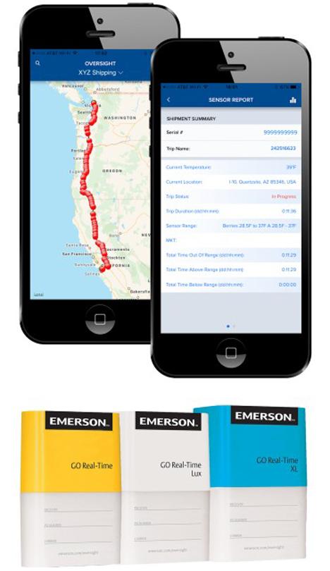 'Spotlight' Weltpremiere: Smartphone-App Oversight Mobile. Foto © Emerson