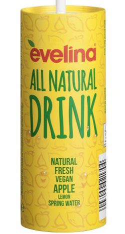 'Spotlight' Messepremiere: Erfrischungsgetränk evelina All Natural Drink. Evelina GmbH