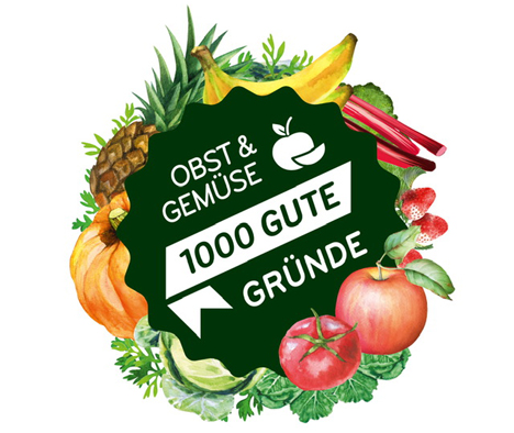 Obst & Gemüse – 1000 gute Gründe: