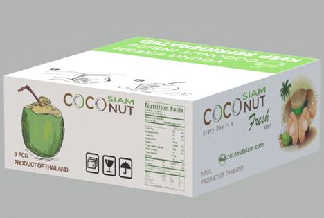 Premium-Kokosnüsse aus Thailand. Foto © Messe Berlin
