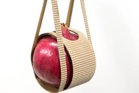 Hochwertige Granatäpfel attraktiv und nachhaltig verpackt