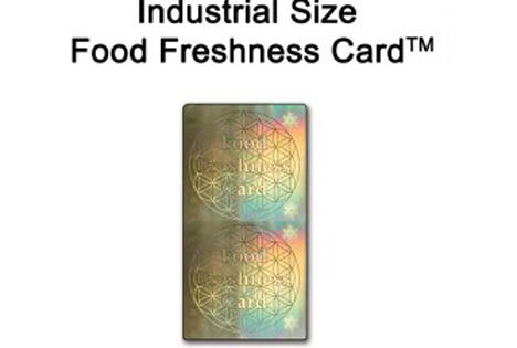 Food Freshness Card und Einsatzbeispiel. Foto © Messe Berlin