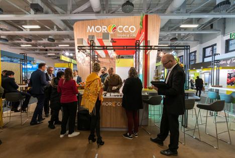 Der marokkanische Stand auf der Fruit Logistica 2020. Foto © Morocco Foodex