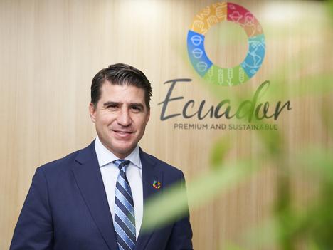 Xavier Lazo, Minister für Landwirtschaft und Tierhaltung, Ecuador Foto © Messe Berlin