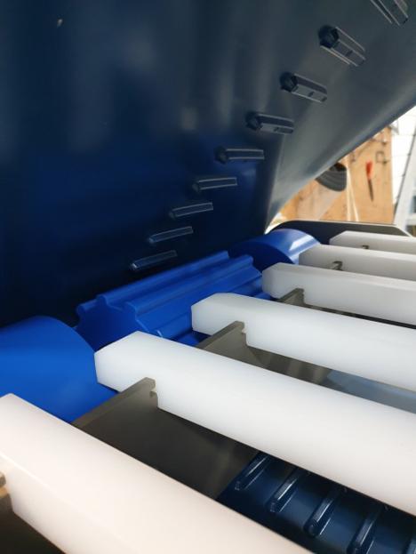 Foto © Volta Belting hat ein neues Gurtmaterial für Förderbänder entwickelt.