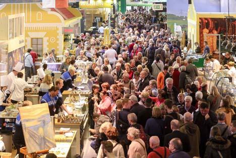 IGW - Hunderttausende Besucher auf der Internationalen Grünen Woche. Foto Messe Berlin