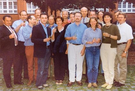 15 Jahre her - die Gründung des BÖLW wird gefeiert! Foto © BÖLW