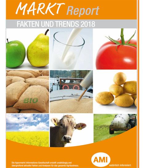 Cover Der neue AMI Markt Report – Fakten und Trends 2018