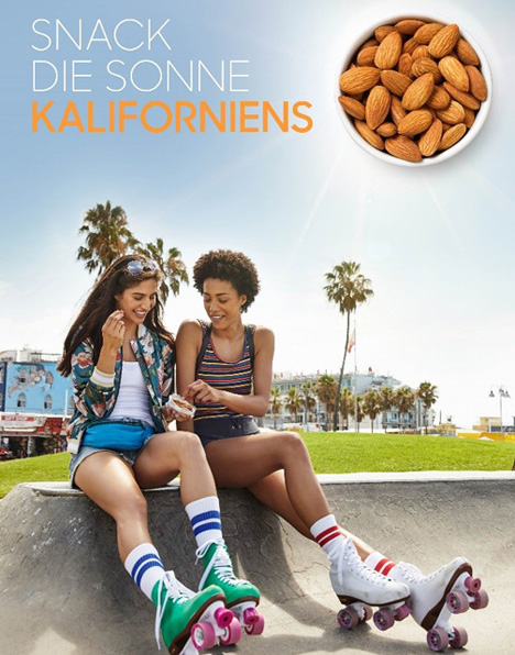 Poster Snack-Werbekampagne Foto © Almond Board of California