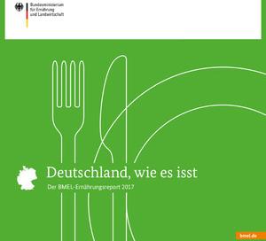 Quelle: BMEL Cover BMEL-Ernährungsreport 2017
