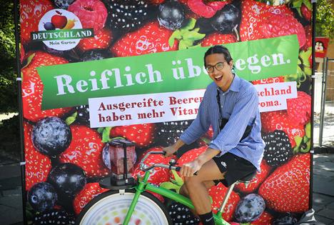 BVEO: Beeren-Smoothie-Bike-Tour - Die schönsten Bilder