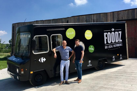Food-Truck Carrefour Foto © Carrefour