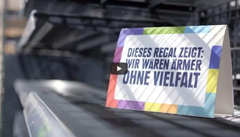 Bild: Edeka setzt ein Zeichen für Vielfalt - Still Online-Video zum Thema Vielfalt