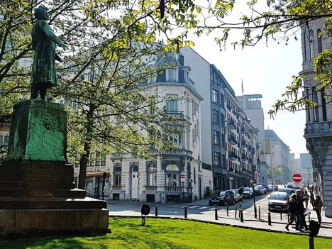 Das neue Büro von FiBL Europe in Brüssel. (Foto: FiBL)