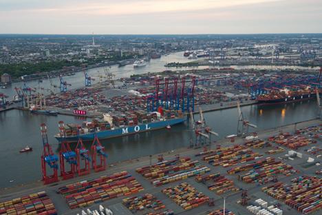 Gutes erstes Quartal für den Seegüterumschlag im Universalhafen Hamburg