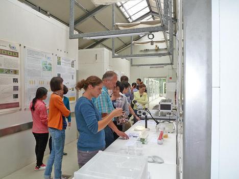 Chinesisch-Deutsches Symposium am JKI Standort Dossenheim. Foto © JKI