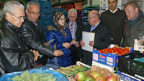Marokkanische Delegation zu Besuch bei der BLE-Qualitätskontrolle Fotoquelle: BLE
