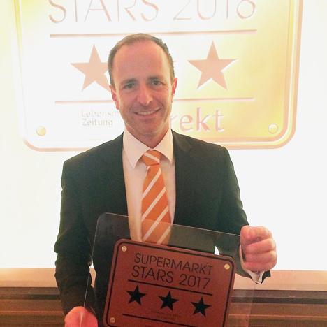 Michael Platz ist Marktleiter des Jahres 2017 - Bronze. Foto © Tegut