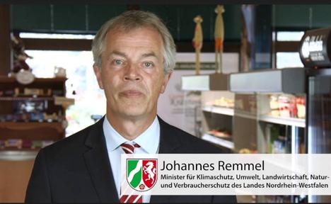 Bild Verbraucherschutzminister Johannes Remmel, Umwelt NRW