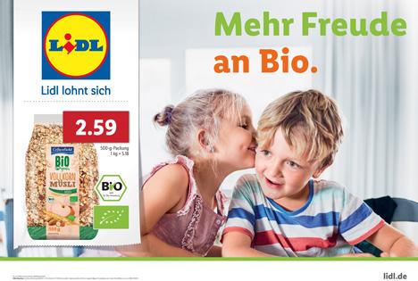 Lidl Deutschland startet neuen Markenauftritt