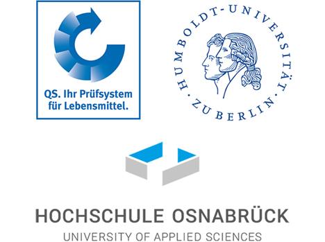 Logos QS Humboldt-Universität Berlin und der Hochschule Osnabrück