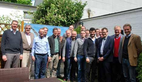 Mit 18 Personen tagten Vorstand und Beirat des BDC am 25. April 2017 in Hannover. Foto © BDC