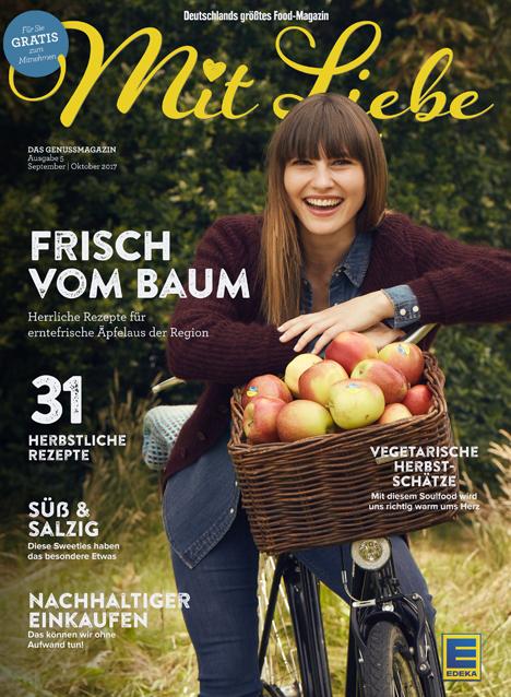EDEKA Mit Liebe Cover. Quelle: EDEKA Zentrale