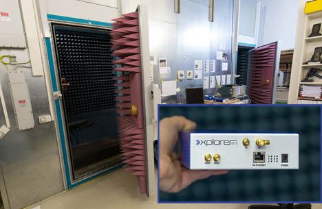 EECC Anechoic Chamber / CISC RFID Xplorer. Foto EECC